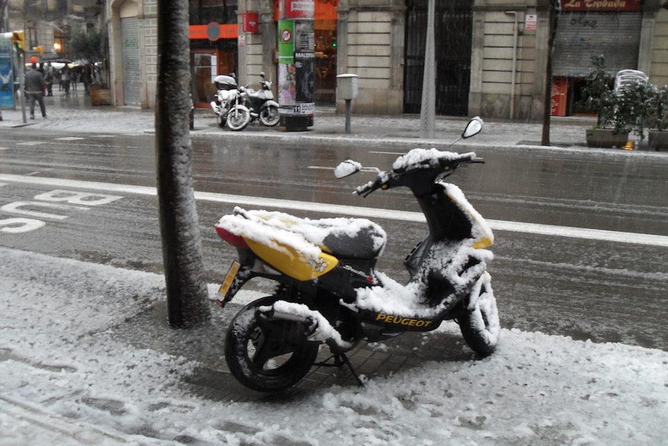 Gomme da neve per moto: quali scegliere per una guida sicura